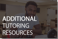 Additional Tutoring Resources