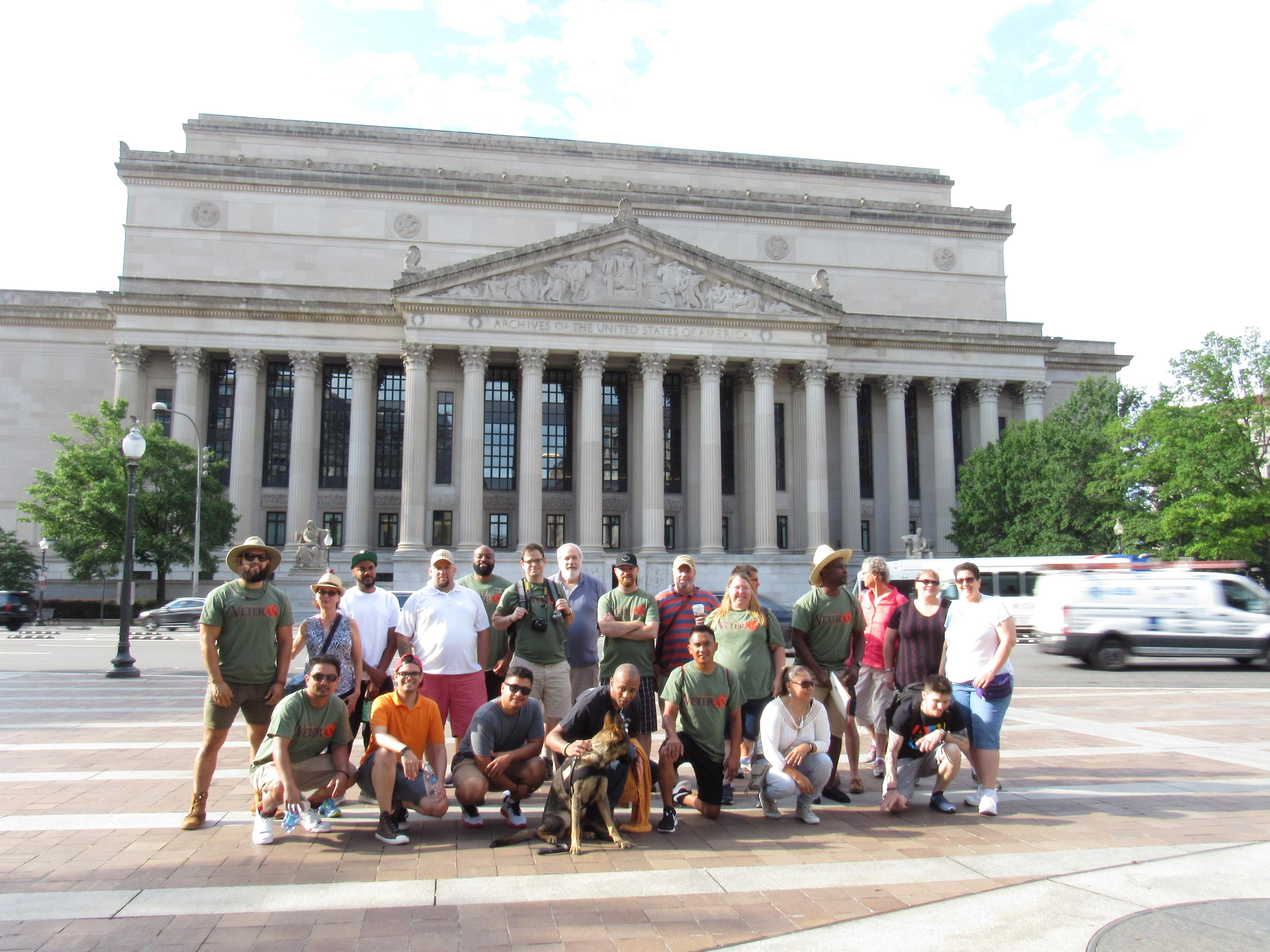 Veteran Students travel to D.C. to begin a special course
