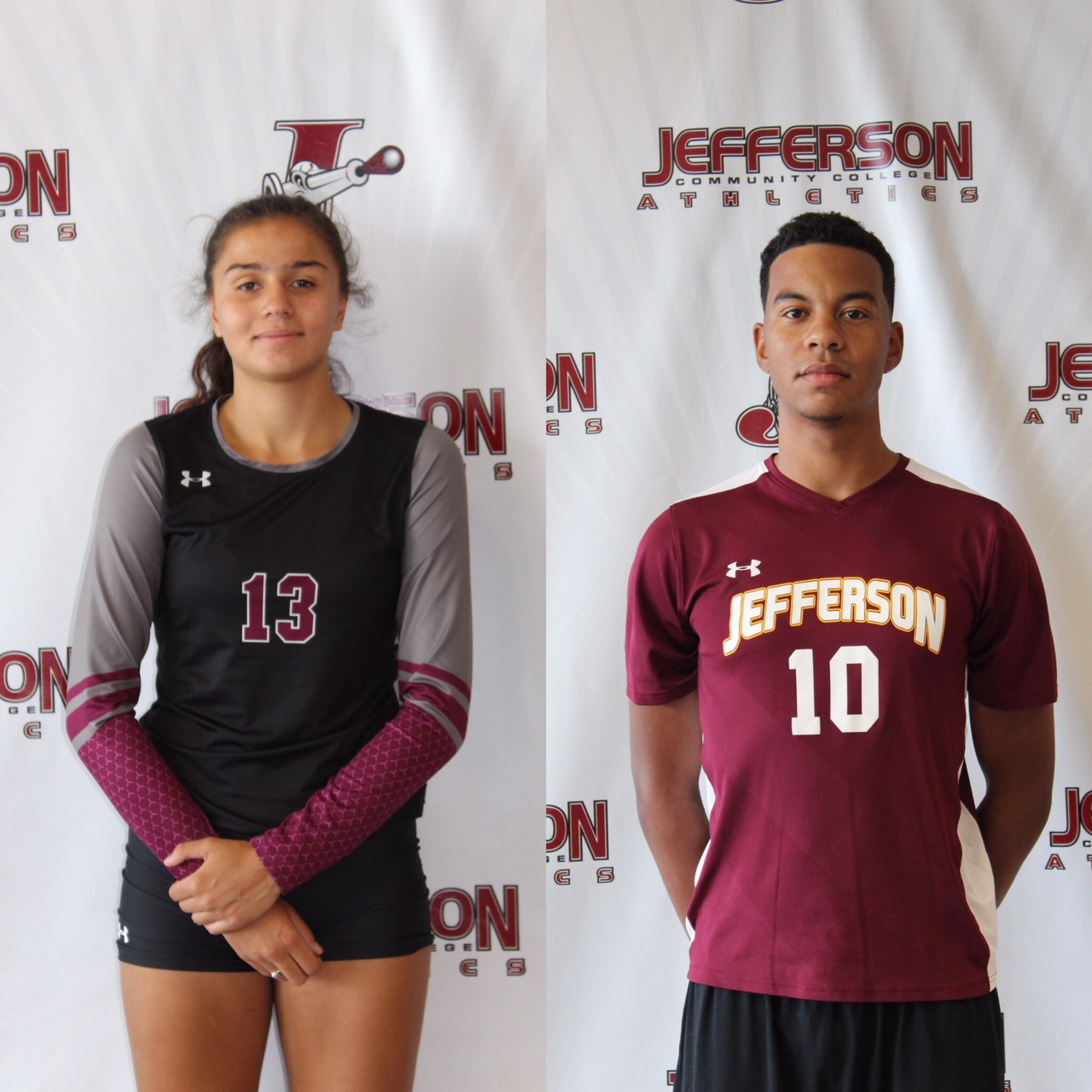 Vazques and Mueller Athletes of the Week