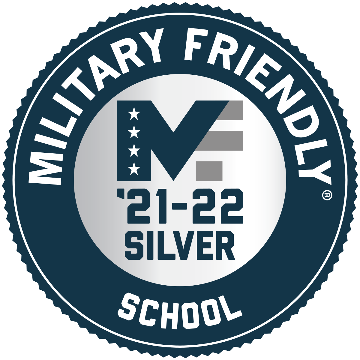 Image of Military Friendly Logo