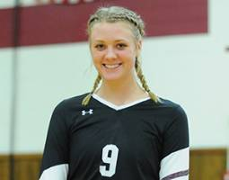 Grace E. Gehrke Named Athlete of the Week