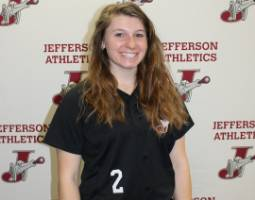 Samantha Dibble Named Athlete of the Week