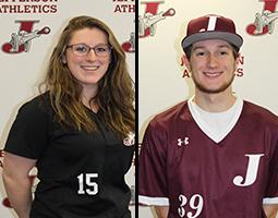 Katelyn VanBrocklin & Jason Kavanaugh Named Co-Athletes of the Week